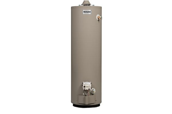 Large image of Reliance 40 Gallon Short Natural Gas Water Heater - 640NBCS