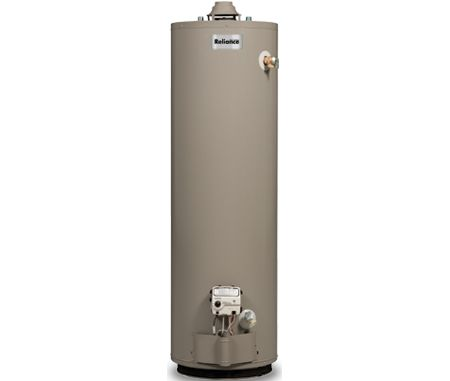 Reliance 40 Gallon Natural Gas Water Heater 640nbct