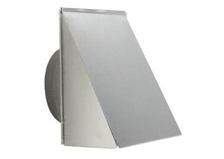 """Broan 8"""" Round Aluminum Fresh Air Inlet Wall Cap - 643FA"""