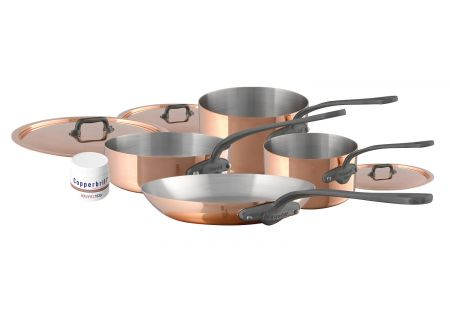 Mauviel M150c2 7 Pieces Copper And Stainless Steel Cookware Set - 645002