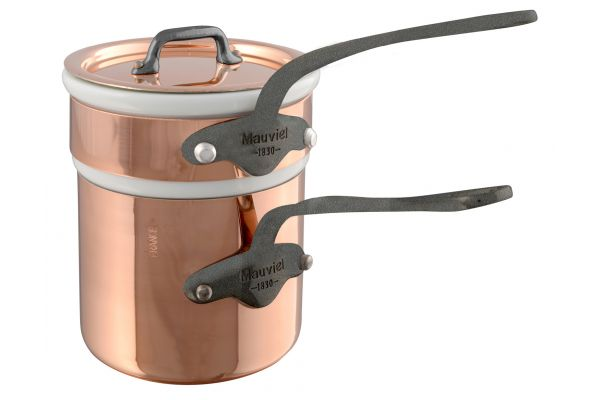 Mauviel M150c2 0.9 Qt. Copper And Stainless Steel Bain Marie - 645412