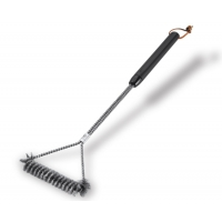 "Weber 21"" Three-Sided Grill Brush"