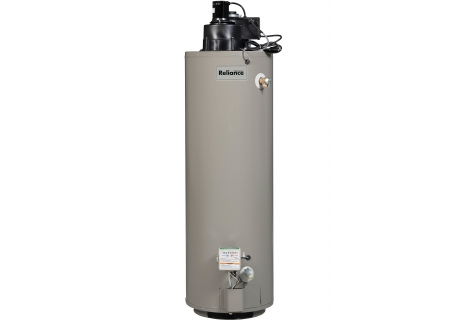 Reliance 40 Gallon High Recovery Power Vent Natural Gas Water Heater - 640YRVIT