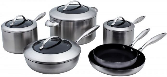 Scanpan Ctx 10 Piece Cookware Gift Set 65100000 Abt