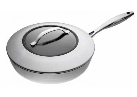 """Scanpan CTX 10 1/4"""" Ceramic Titanium Saute Pan With Cover - 65102600"""