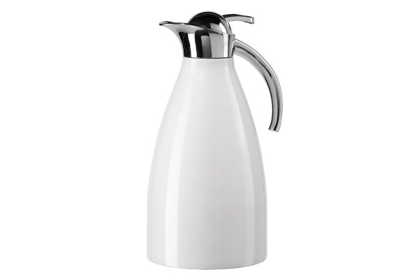 Large image of Oggi Allegra 2 Liter White Carafe - 65141