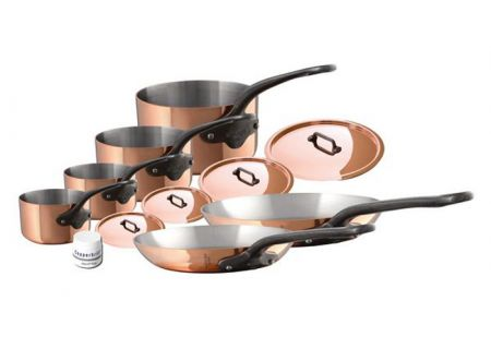 Mauviel M250c 10 Piece Copper And Stainless Steel Cookware Set - 653006