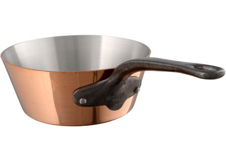 Mauviel M250c 2 Qt. Copper And Stainless Steel Splayed Saute Pan - 654320