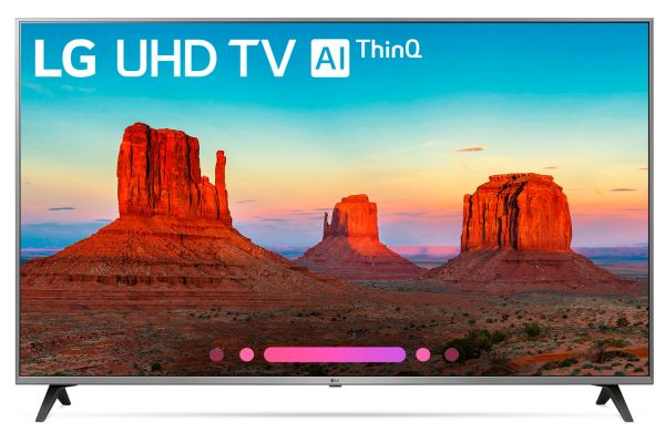 """LG 65"""" Silver UHD 4K HDR Smart LED AI With ThinQ - 65UK7700PUD"""