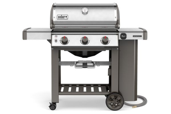 Weber Genesis II S-310 Stainless Steel Natural Gas Grill - 66000001