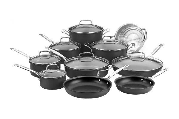 Cuisinart Hard Anodized 17-Piece Cookware Set - 66-17N