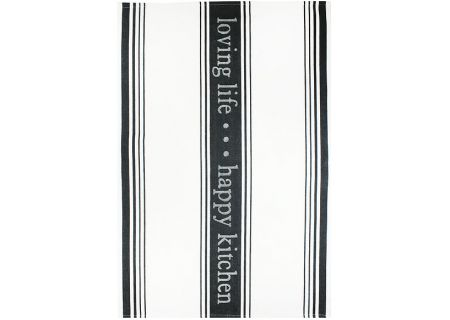 MUkitchen Onyx Cotton Jacquard Towels - 6628-1218