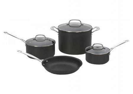 Cuisinart Chefs Classic Hard Anodized 7-Piece Cookware Set - 66-7