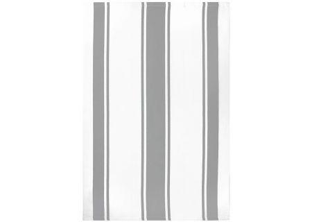 "MUkitchen 20"" X 30"" Cotton Classic Nickel Stripe Dishtowel - 66901728"