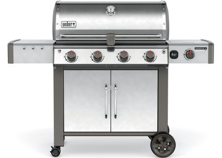 Weber Genesis II LX S-440 Stainless Steel Natural Gas Outdoor Grill - 67004001