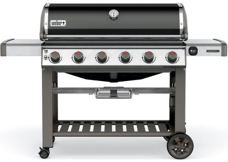 Weber Genesis II E-610 Black Natural Gas Outdoor Grill - 68010001