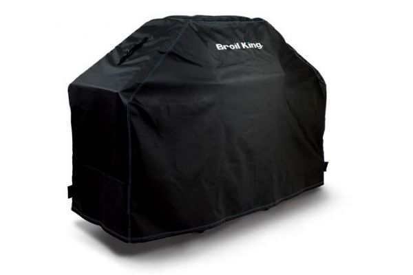 """Large image of Broil King 64"""" Black Premium PVC Polyester Cover  - 68488"""