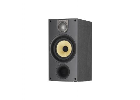 Bowers & Wilkins 600 Series Black Ash 2-Way Bookshelf Speakers - 686S2