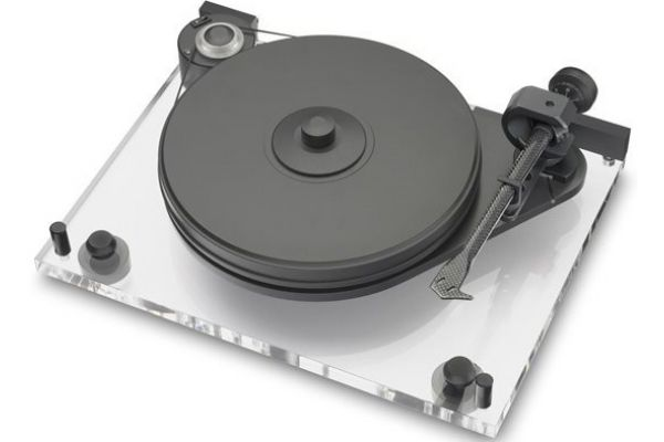Large image of Pro-Ject 6Perspex Superpack Acrylic Turntable (Low Output) - 6PERSPEXSUPERPKLOW