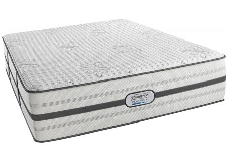 Simmons Beautyrest Platinum Hybrid Bryson Plush Queen Mattress - 7007160021050