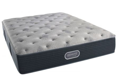 Simmons Beautyrest Silver St. John Plush King Mattress  - 7007529921060