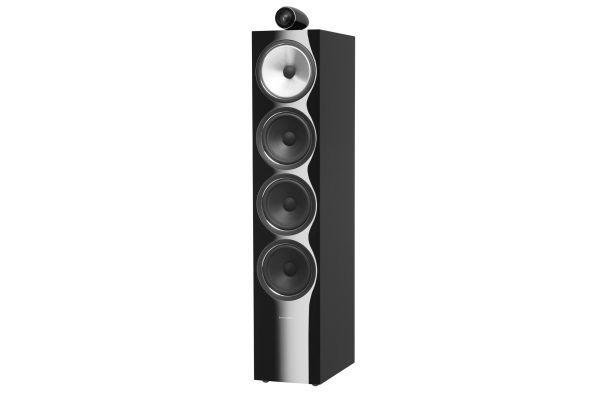 Large image of Bowers & Wilkins 700 Series Gloss Black 3-Way Floorstanding Speaker (Each) - FP38849