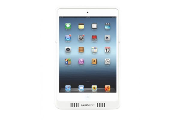 Large image of LaunchPort White AM.2 iPad Mini Sleeve  - 70305