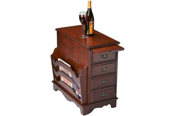 Large image of Butler Specialty Company Gregory Plantation Cherry Magazine Table - 7038024