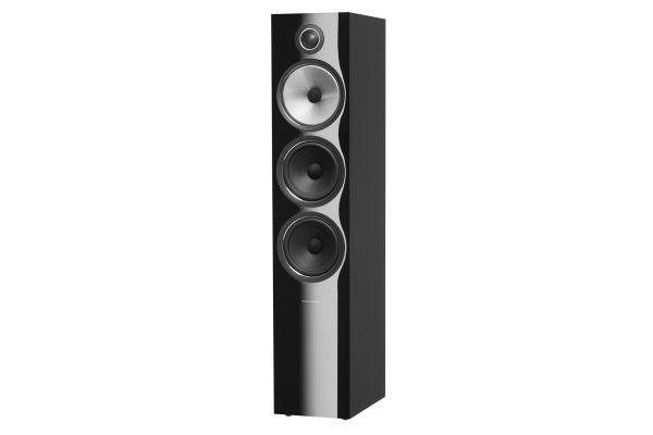 Large image of Bowers & Wilkins 700 Series Gloss Black 3-Way Floorstanding Speaker (Each) - FP38911