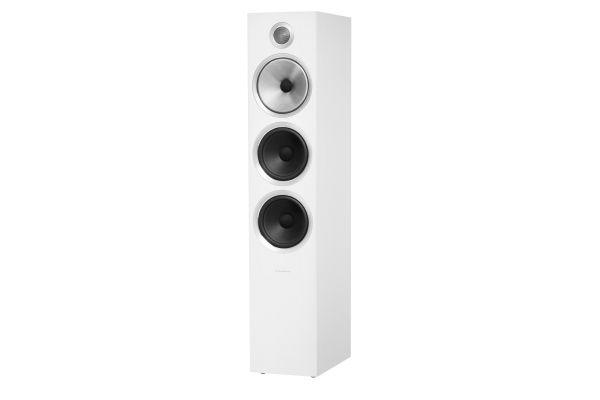 Large image of Bowers & Wilkins 700 Series Satin White 3-Way Floorstanding Speaker (Each) - FP39489