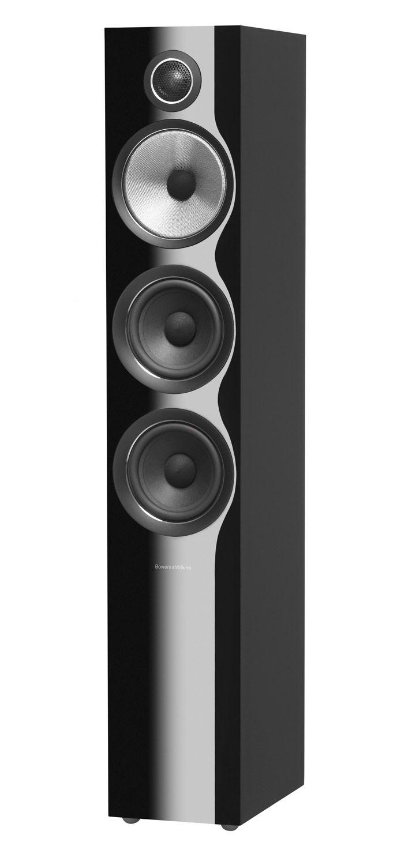 Bowers & Wilkins 700 Series Gloss Black 3-Way Floorstanding Speaker (Each)
