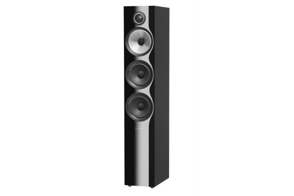 Large image of Bowers & Wilkins 700 Series Gloss Black 3-Way Floorstanding Speaker (Each) - FP38830