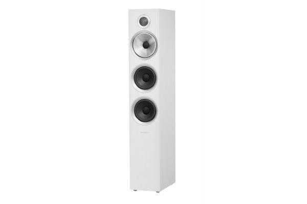 Large image of Bowers & Wilkins 700 Series Satin White 3-Way Floorstanding Speaker (Each) - FP39462