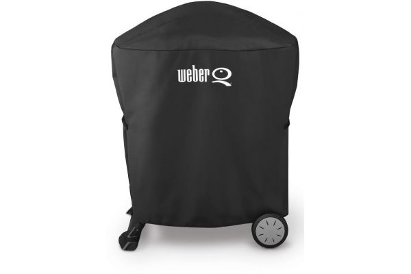 Weber Black Grill Cover With Storage Bag  - 7113
