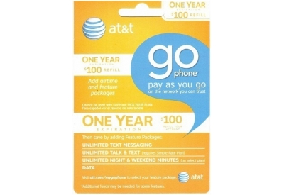 AT&T Wireless - 71236 - Go Phones / Go Phone Cards