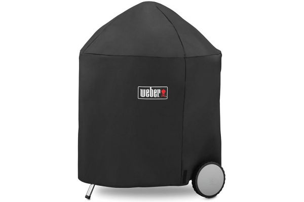 """Weber 26"""" Charcoal Grill Cover With Storage Bag - 7153"""