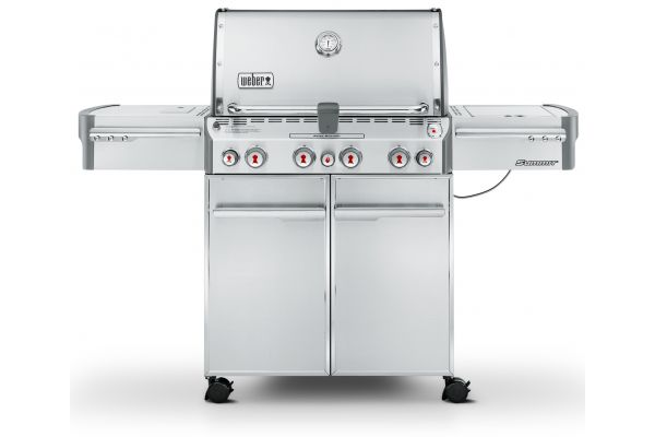 Weber Summit S-470 Stainless Steel Liquid Propane Gas Grill - 7170001
