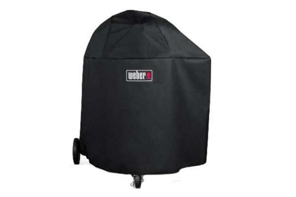 Large image of Weber Summit Charcoal Black Grill Cover - 7173