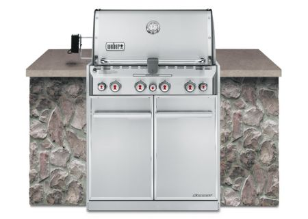 Weber Summit S-460 Built In Natural Gas Grill - 7260001