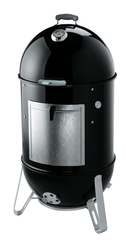 Weber Black 22 Smokey Mountain Cooker Smoker 731001