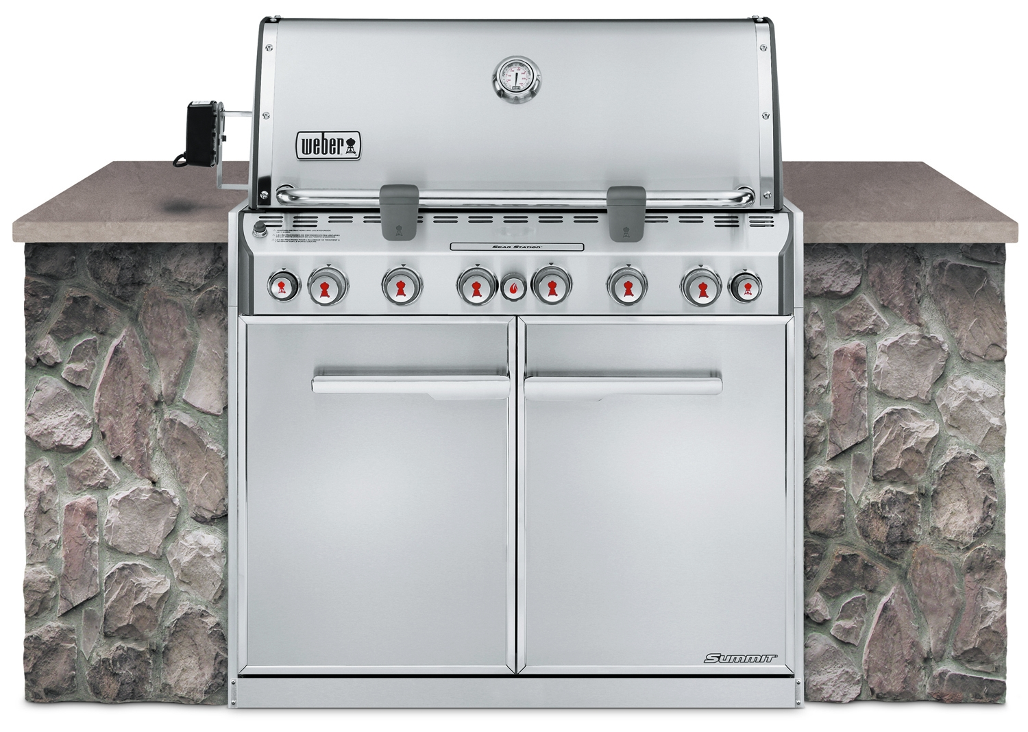 weber summit s 660 built in natural gas grill 7460001. Black Bedroom Furniture Sets. Home Design Ideas