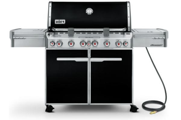Weber Summit E-670 Black Natural Gas Grill - 7471001
