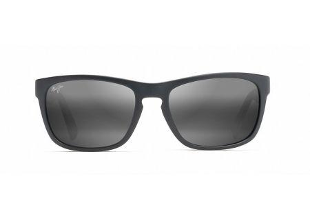 Maui Jim South Swell Matte Black Mens Sunglasses  - 755-2M