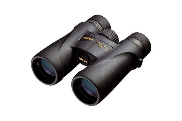 Large image of Nikon MONARCH 5 10x42 Black Binoculars - 7577N