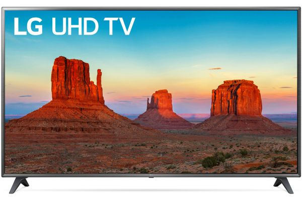 "LG 75"" Black UHD 4K HDR Smart LED HDTV With WebOS - 75UK6190PUB"