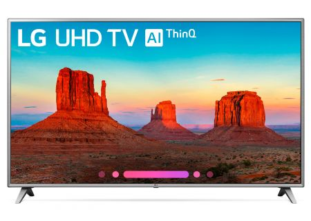 "LG 75"" Silver UHD 4K HDR Smart LED AI With ThinQ - 75UK6570PUB"