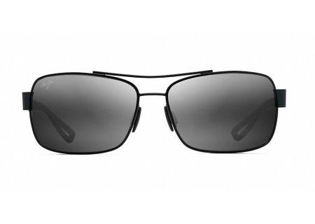 Maui Jim Ola Black Matte Mens Sunglasses - 764-02M
