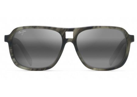 Maui Jim Little Maks Matte Green Smoke Sunglasses - 771-15SM