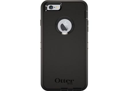 Otterbox Black Defender Series Case For Apple iPhone 6/6s - 77-52133