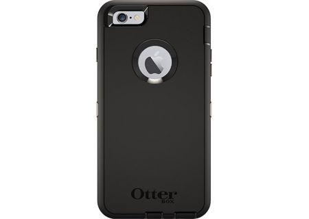 Otterbox Black Defender Series Case For Apple iPhone 6/6s Plus - 77-52236
